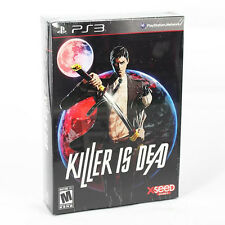 KILLER IS DEAD LIMITED EDITION PS3 GAME ENGLISH (WITH ART BOOK, SOUNDTRACK CD)
