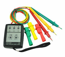 New vc850 3 Phase Sequence Rotation Indicator Tester 200~480V Checker Meter