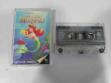 THE LITTLE MERMAID SOUNDTRACK WALT DISNEY CASSETTE TAPE CINTA SPANISH ED 1994