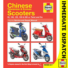 [4768] Chinese Taiwanese Korean 50cc 125cc 150cc Scooters Haynes Workshop Manual