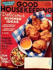 Good Housekeeping Magazine 8/16 Recipes Home Decor Heloise Advertisements
