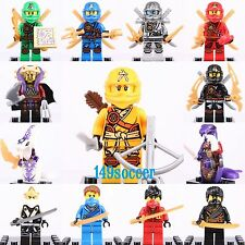 13pcs Set Ninjago Custom Lego Mini Figures Building Toy Super Hero