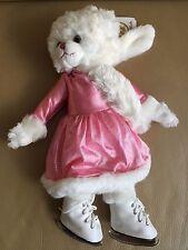 Barbara BUKOWSKI Design Orsacchiotto Teddy pattinare sul ghiaccio INVERNO ROSA ABITO NUOVO