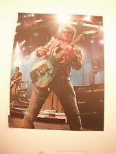 Tim Farriss INXS Guitarist 12x9 Coffee Table Book Photo Page