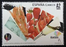 2017 HUELVA CAPITAL ESPAÑOLA GASTRONOMIA MNH ** SELLOS ESPAÑA TP20218