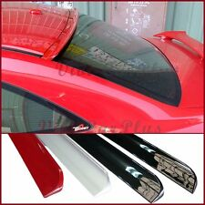 Painted 06-11 Honda Civic 8th EX LX DX Coupe B Type PU Roof Spoiler Add On Tail