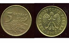 POLOGNE 5 groszy  2002  ( bis )