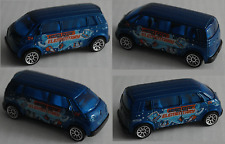 "Matchbox – VW Microbus blaumetallic ""Hero City"""