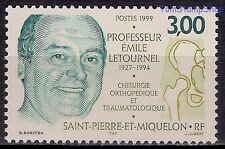 St Pierre & Miquelon 1999 Letournel Doctor Surgery Orthopaedics Health Medical**