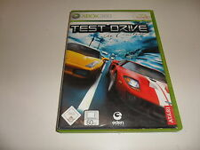 XBox 360  X360   Test Drive Unlimited