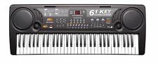 61 Key Electronic Music Keyboard Piano Electric Organ - w/ USB Input & Less