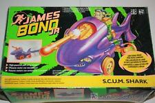 JAMES BOND JR SCUM SHARK HASBRO 1992 dr.no jaws buddy gordo CARTOON gijoe NEW