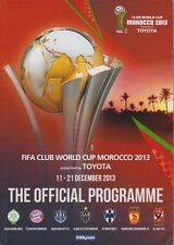 FIFA CLUB WORLD CUP FINAL 2013  OFFICIAL PROGRAMME