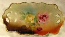 1927 Prince Regent Bavaria Handpainted Floral Serving Dish