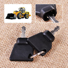 2x Ignition Key Replacement Fit for JCB Parts 3CX Excavator 70145501 701/45501