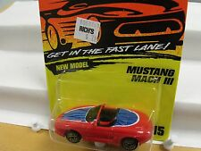 MATCHBOX SUPERFAST,THAILAND,#15,MUSTANG MACH III,RED ,INORIGINALUNOPENED BLISTER
