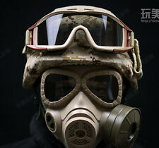 CS Equipment Airsoft Wargame Cosplay M88 Helmet DUMMY M04 Gas Mask Goggles-010
