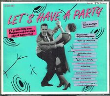 (2CD's) Let's Have A Party - Wanda Jackson, Danny & The Juniors, Kalin Twins