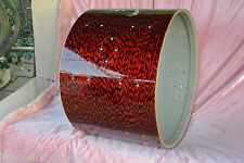 "60's Rogers 20"" HOLIDAY RED ONYX PEARL BASS DRUM SHELL for DRUM SET #G983"