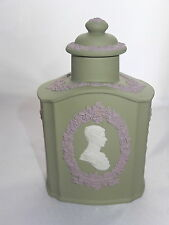 Very rare Royal Wedding, Jasper Ware Tea Caddy, in box original packing