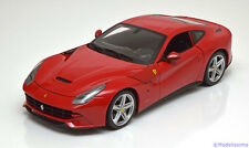 1:18 Hot Wheels Ferrari F12 Berlinetta 2012 red