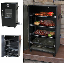 Electric BBQ Smoker Barbecue Grill Outdoor Portable Meat Cooker Digital Rack