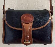 Vintage Dooney Bourke R25 Essex AWL Pebbled Leather VTG Crossbody Shoulder Bag