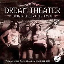 DREAM THEATER New Sealed 2017 UNRELEASED 1993 LIVE MILWAUKEE CONCERT 2 CD SET