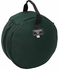 Humes & Berg TX422FG 3 X 13-Inches Tuxedo Snare Drum Bag Forest Green