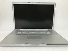 "Apple MacBook Pro 17"" Laptop - MB166LL/A (February, 2008) (45749) *Please read*"
