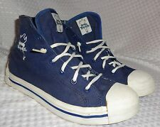 mens Snoop Dog Snoopadoopa Doggy Biscuitz PONY hi top canvas shoes sz 8 RARE!!