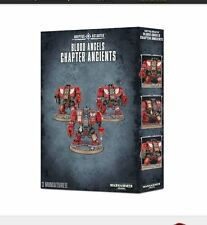 Warhammer 40k Adeptus Astartes Blood Angels Chapter Ancients - Out of Box