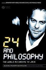 24 and Philosophy: The World According to Jack, , Good Condition, Book