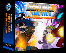 Greater Than Games Board Game: Came Sentinel Tactics: The Flame of Freedom (New)