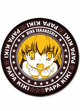 Listen to Me Girls I Am Your Father PapaKiki Hina Takanashi Patch ~ Licensed