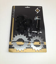 ORIGIN SINGLE SPEED BICYCLE CASSETTE CONVERSION KIT COGS CHAIN GUIDE SPACERS