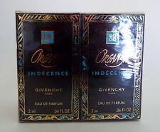 ORGANZA Indecence Givenchy Eau de Parfum Paris 10 Samples 2ml/06.Fl Oz. NEW