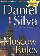 Moscow Rules by Daniel Silva (2008, Abridged, CD) Used