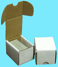 10 BCW 100 COUNT CARDBOARD STORAGE BOXES Trading Sport Card Holder Case Baseball
