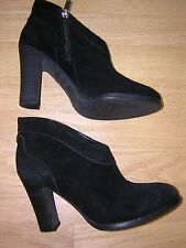 Fergalicious Black Leather Boties Size 6M