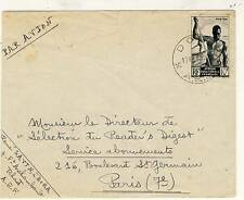 LETTRE AIR MAIL / PAR AVION / A.E.F. DOUALA / PARIS 1950