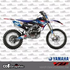 GRAPHICS DECALS STICKERS FULL KIT FOR AMAHA YZF250/450 2014-2016