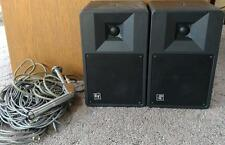 Electro-Voice S-60A Compact Monitor Speakers 100 Watts w/ Microphone