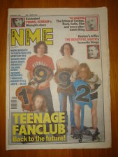 NME 1992 JAN 4 NAPALM DEATH MERCURY REV TEENAGE FANCLUB