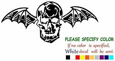 Avenged Sevenfold Death Bat Decal Sticker JDM Funny Vinyl Car Truck Window 7""
