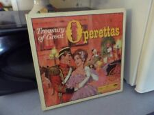 Reader's Digest – Treasury of Great Operettas – 9 LP Box Set
