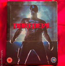 Daredevil Limited Edition Steelbook, Blu-Ray UK, Region Free)