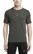 Ret$90 NWT Men's Nike Dri Fit Aeroreact Running TSHIRT MEDIUM 717972 010