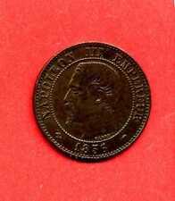 (BR.63) 2 CENTIMES NAPOLÉON III 1856 MA (MARSEILLE) SUP