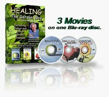 Healing the Gerson Way +The Ultimate Gerson Movie collection on One Blu-Ray Disc
